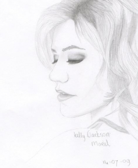 Kelly Clarkson by Marel.